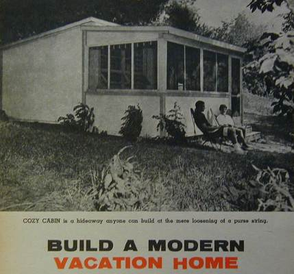 14 39 X20 39 Cabin Vacation Home How To Build Plans Low Cost Ebay