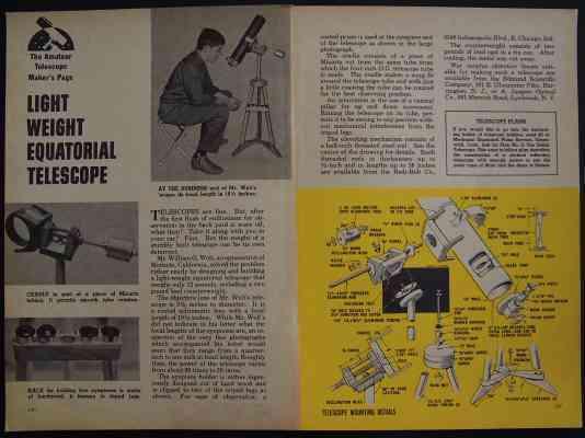 how to build a telescope pdf