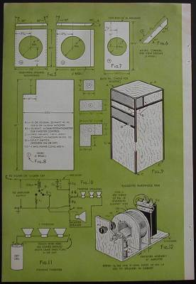 2 Way Folded Horn Speaker 1952 How To Build Plans