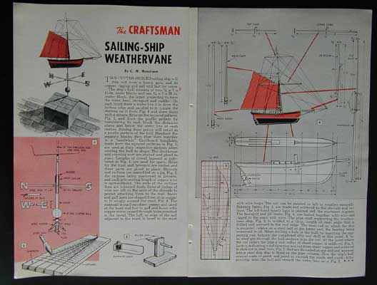 Woodworking Plans Weathervane Plans Pdf Plans