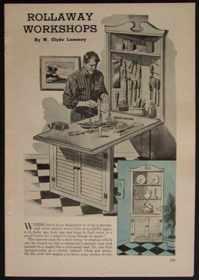 Rollaway workshop workbench how to build plans apartment for Apartment workbench plans