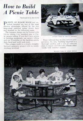Balberto: Hexagonal picnic table plans free Diy