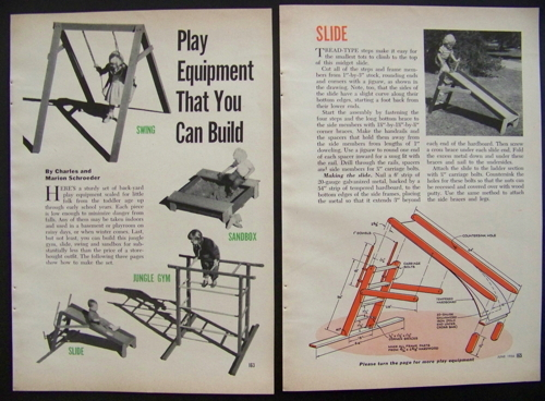 Childrens playground equipment how to build plans jungle for Wooden jungle gym plans