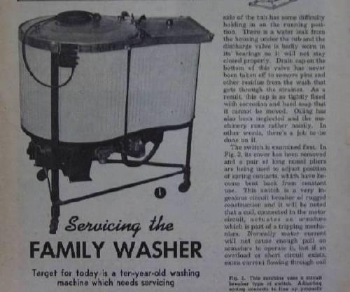 vintage easy washing machine